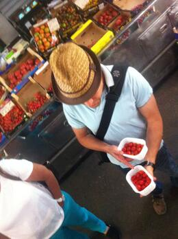 Rome Food Walking Tour of Testaccio, Dominique - June 2012