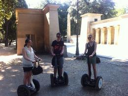 Rome Segway Tour: Villa Borghese - November 2012