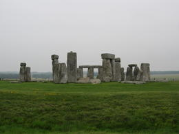 A very mystical Stonehenge, given the cloudy, misty conditions. , Rita J - August 2011