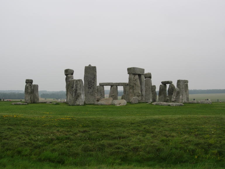 Stonehenge in the mist - London