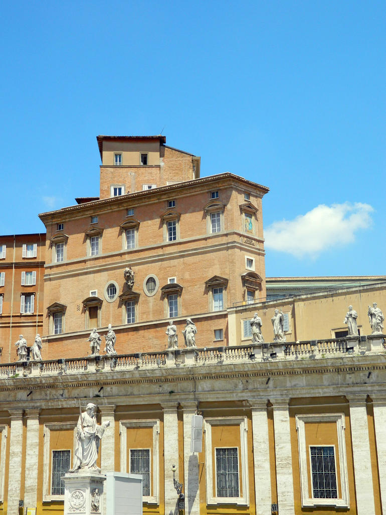 The Pope's Apartment - Rome