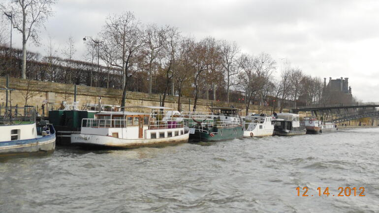 The River Boat Ride - Paris