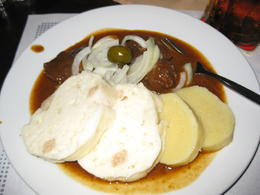 We enjoyed Czech Goulash as our 2nd course during our visit to Cesky Krumlov. It was delicious. , Crystal W - October 2014