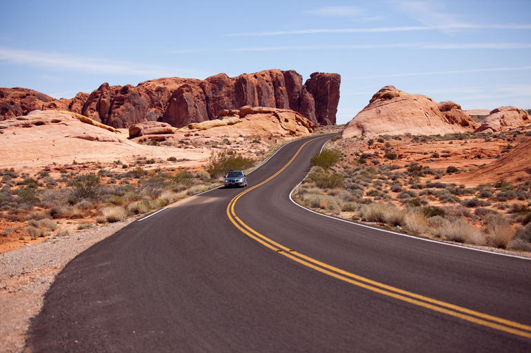 Valley of fire --The Pillars - Las Vegas