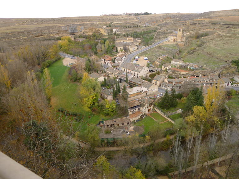 view from the Alcazar Castle of Segovia - Madrid