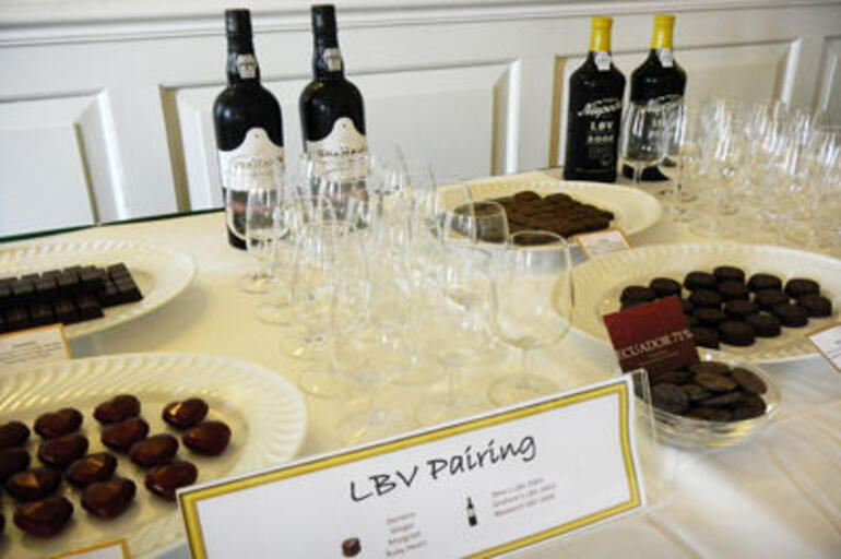 Wine and chocolate tasting - Hong Kong