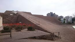 Huaca Huallamarca , Barbara C - October 2016
