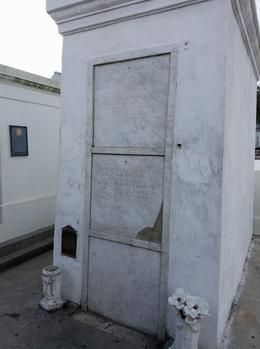 The burial site of Marie Laveau , Gabriel M - February 2017