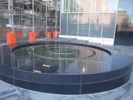 Original spot where the Survivors Tree was found at Ground Zero. , Nana - April 2017