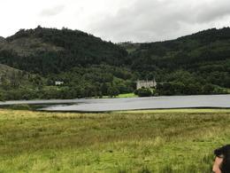 Picture form one of the loch, and an old hotel at the background. , Alex K - August 2017