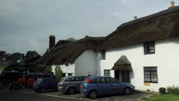 Thatched cottages in Cornwall , Christine P - October 2012