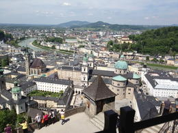 Having lunch at the top of Salzburg castle. , scatcas - May 2013