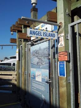 angel island embarkation point , Karen G - November 2013