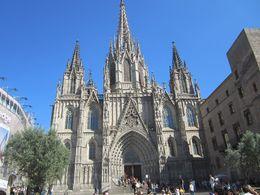 Esta foto es de la catedral de Barcelona. , mautravel - February 2016