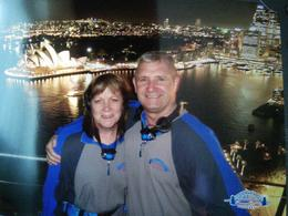 Top of the bridge looking out onto the amazing views , sandra M - November 2014