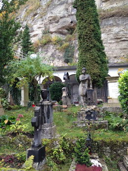 Cemetery where a scene for and quot;The sound of Music and quot; was filmed. , Mike G - November 2014