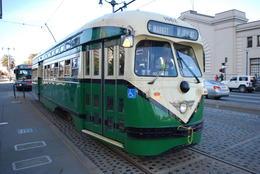 ...auch die kostenfreie Fahrt in einer der nostaligischen Straßenbahnen der F-Linie ist jederzeit möglich. , Birgit D - December 2014