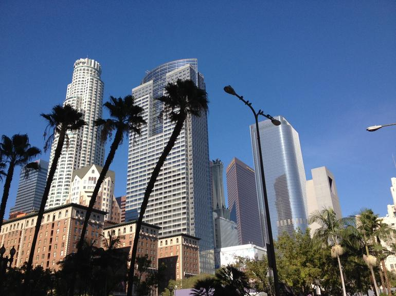 Downtown Los Angeles Skyline - Los Angeles
