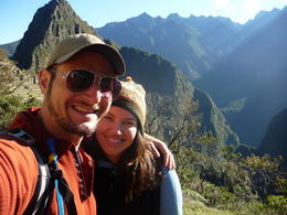 Good morning from Machu Picchu!, Trina Tron - July 2013