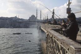 Istanbul With Mosque in Background - March 2012