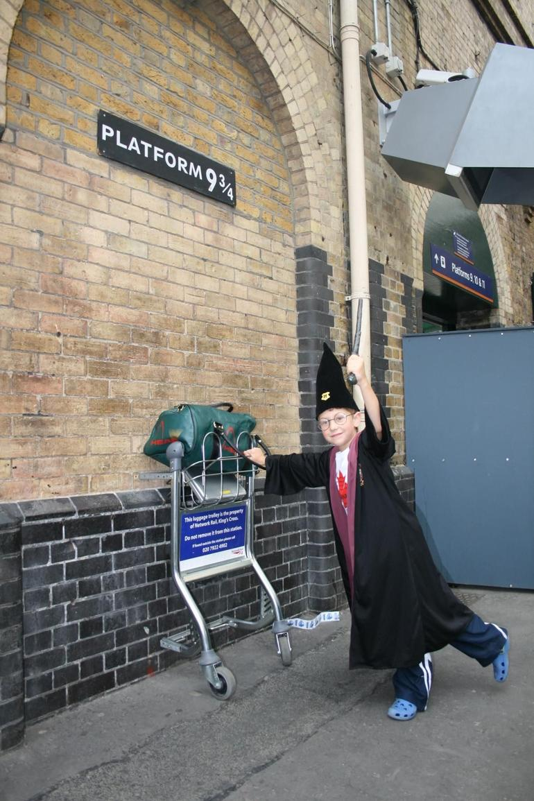 Jamie as a Hogwart's Wizard - London