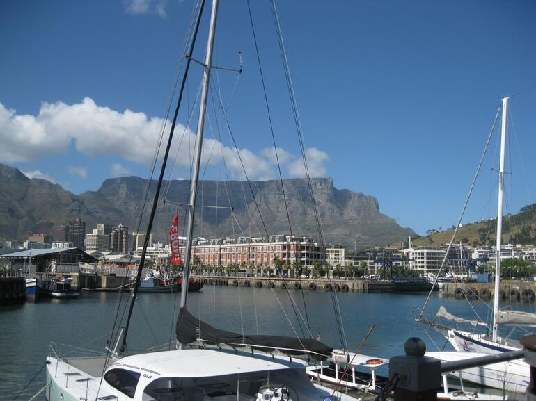 Marina at the Waterfront - Cape Town
