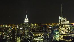 view of the Empire State Building from Top Of The Rock, Jenny L - November 2010