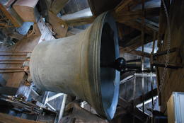 As you ascend the tower, you can take a brief detour to view this famed bell. , Jeff & Kathy - July 2012
