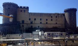 The castle in Old Naples being restored. , Anny H - September 2014