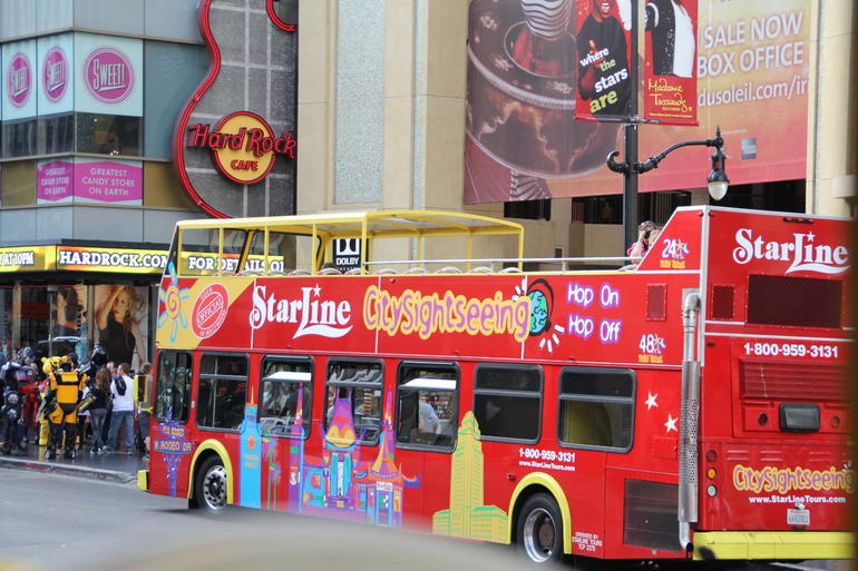 One of our fantastic buses - Los Angeles