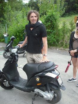Our brilliant guide, Frances - June 2010