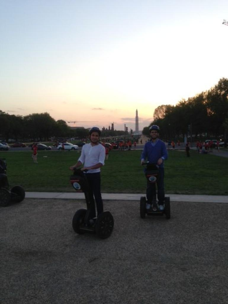 Segway Sunset - Washington DC
