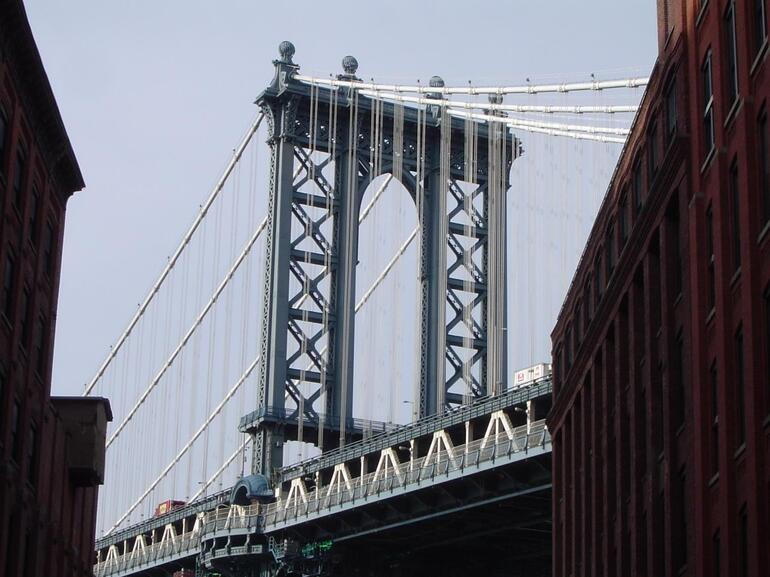 The Mighty Manhattan Bridge - New York City