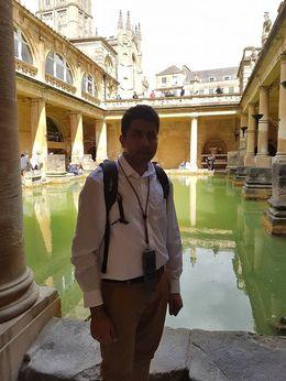 At the Romans bath. , Jamal K - May 2016