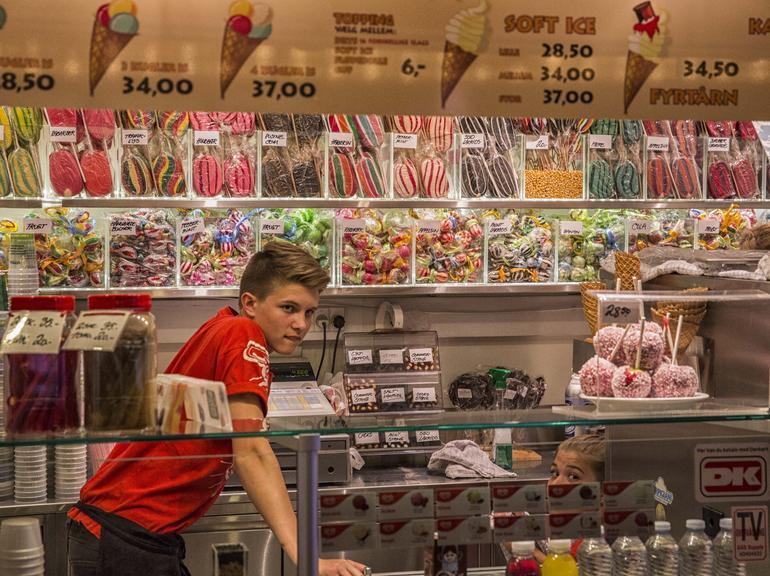 Tivoli Candy Stand - Copenhagen