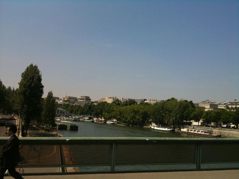 View of Seine from Carriage - Paris