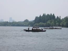 West Lake sightseeing cruise., Julie - June 2012