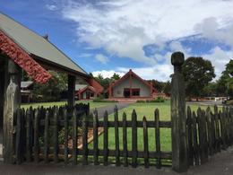 Display Maori house. Every craft got story. , Ying Z - November 2016