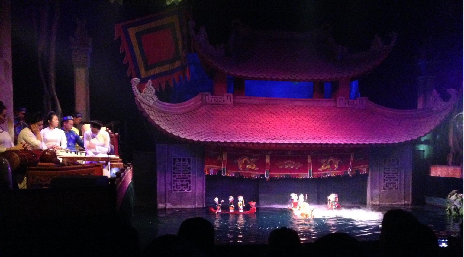 MÁS FOTOS, Las entradas para las Marionetas de agua con envío de billete en Hotel Hanoi