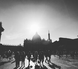 Taken right outside the church, in the mids of Vatican City.Love this Image , jennattan08 - May 2017