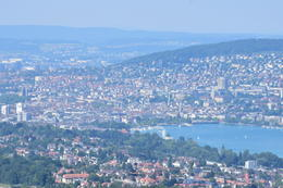 The view of Zurich from the top of the hill , Douglas W - June 2017