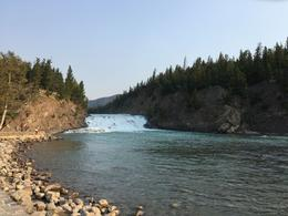 Bow river in Banff , Patricia W - August 2017