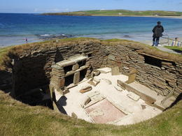 Skara Brae - looking over a communal area , Candyce C - October 2017
