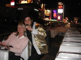 Feeling like a V.I.P with my own personal Elvis show., Eric G - April 2008