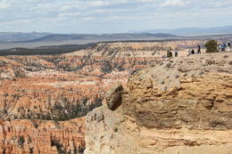 How small one can feel in the immensity of Bryce Canyon. , Peggy L - April 2013