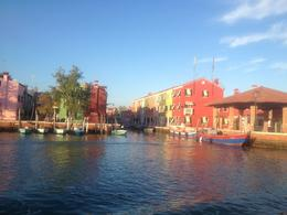 Burano, the most picturesque island, at sunset. , Helen W - October 2013