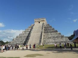 Pyramid at Chichen Itza , STEFANIE S - December 2011