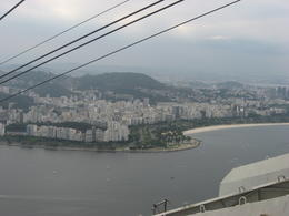 In the cable car on the way down from Sugar Loaf., Bandit - September 2011