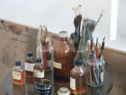 Artifacts of the artist. , Roger G - June 2013