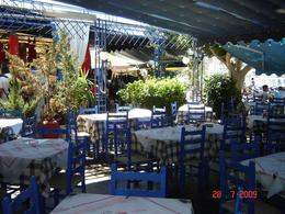 One of the tavernas at Poros island, Olivia Z - August 2009